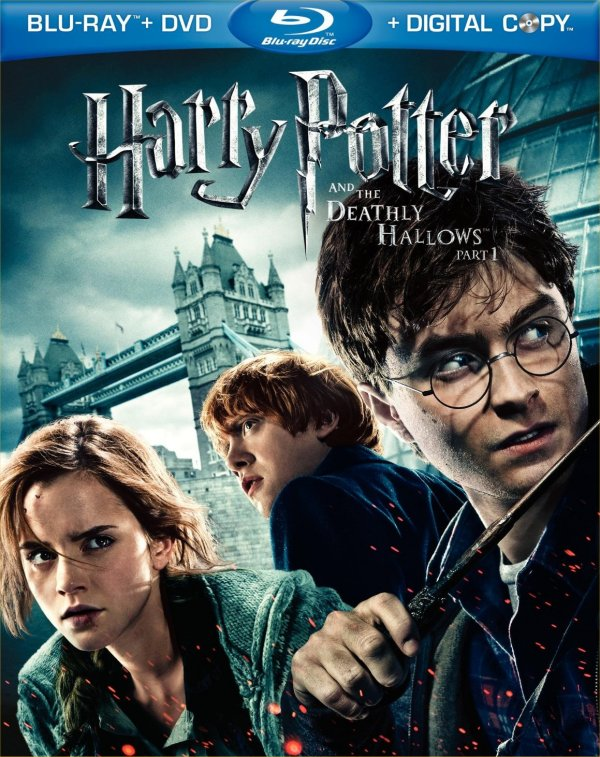 harry potter and the deathly hallows part 1 blu ray dvd. Part 1 of Deathly Hallows