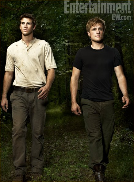Peeta and Gale in The Hunger Games | POPSUGAR Love & Sex