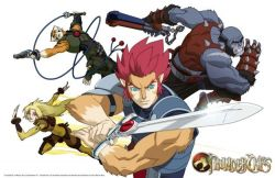 Thundercats 2011 Cast on New Anime Influenced Cartoon Series Of Thundercats Is In
