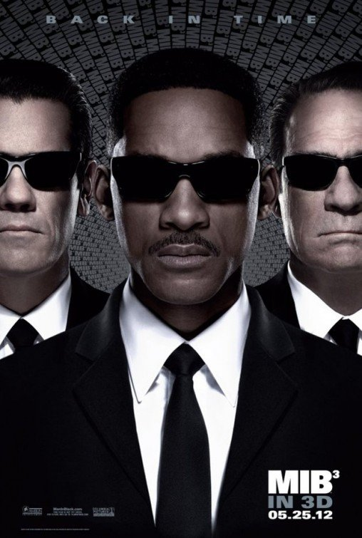 Men in Black III starring Will Smith, Josh Brolin, Tommy Lee Jones