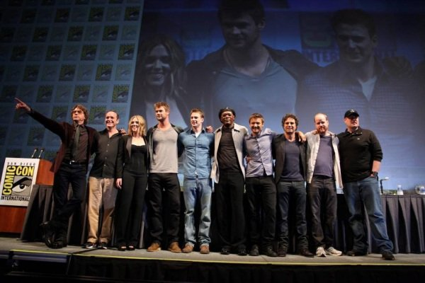 Marvel's cast of The Avengers
