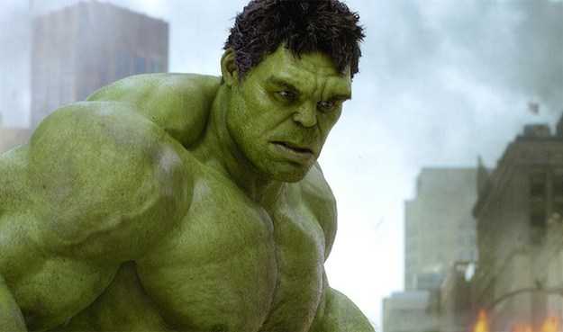 The Avengers, Mark Ruffalo as the Hulk.