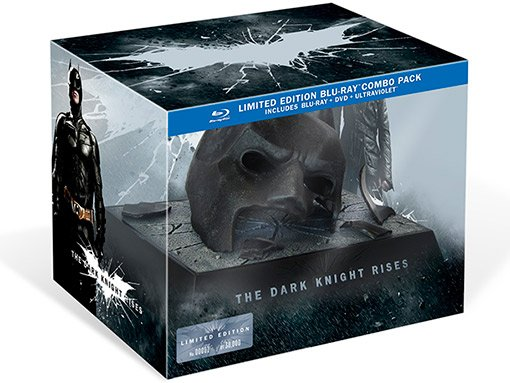 The Dark Knight Rises Bat Cowl box set