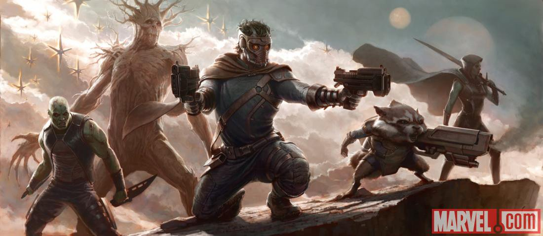 Guardians of the Galaxy movie concept artwork