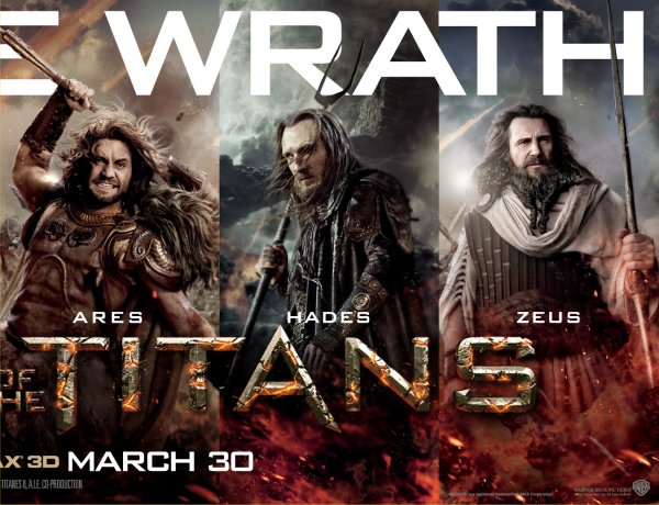 Wrath of the Titans movie character banner