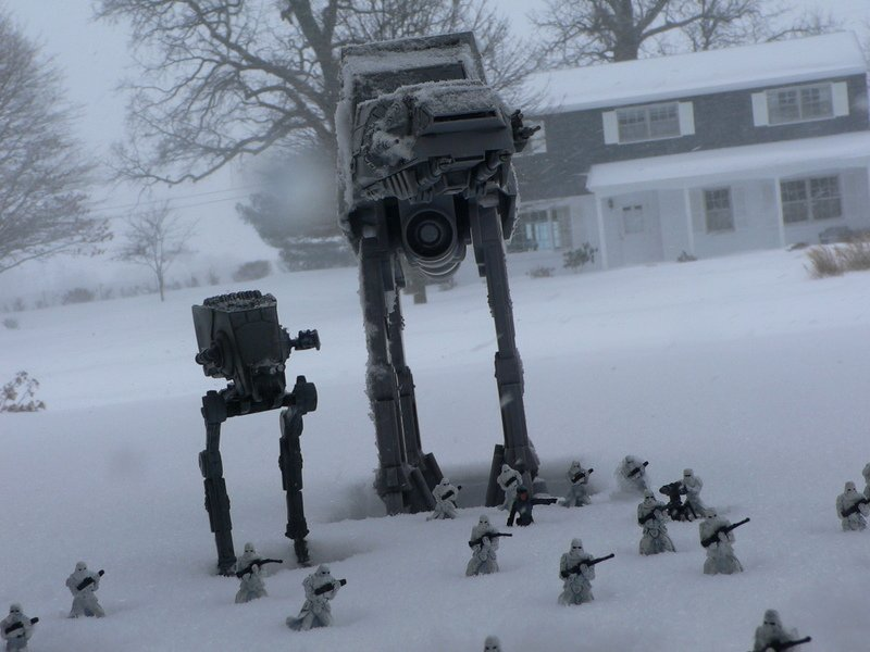 star wars hoth impression