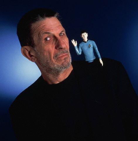 Leonard Nimoy Spock Leonard Nimoy i...