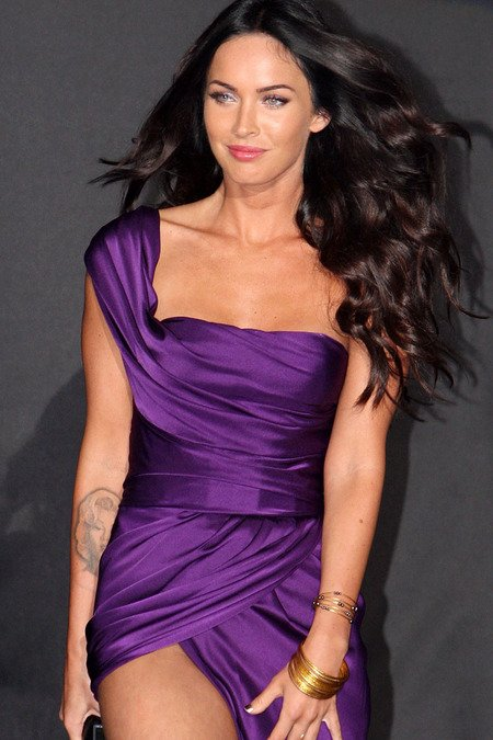 megan fox red carpet dresses