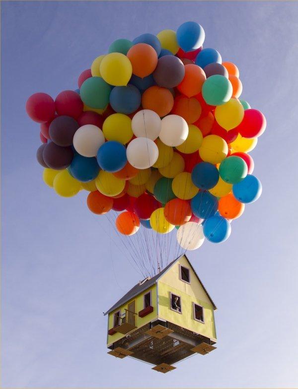 pixar up house model. disney pixar up house. the