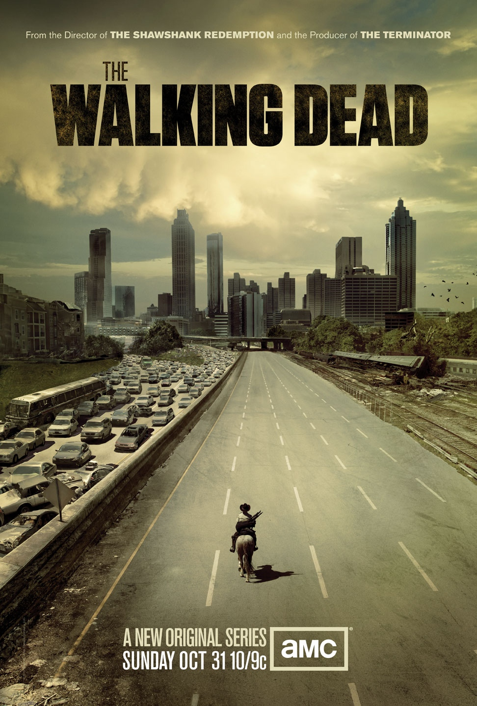 Poster for The Walking Dead is pretty empty of dead folk
