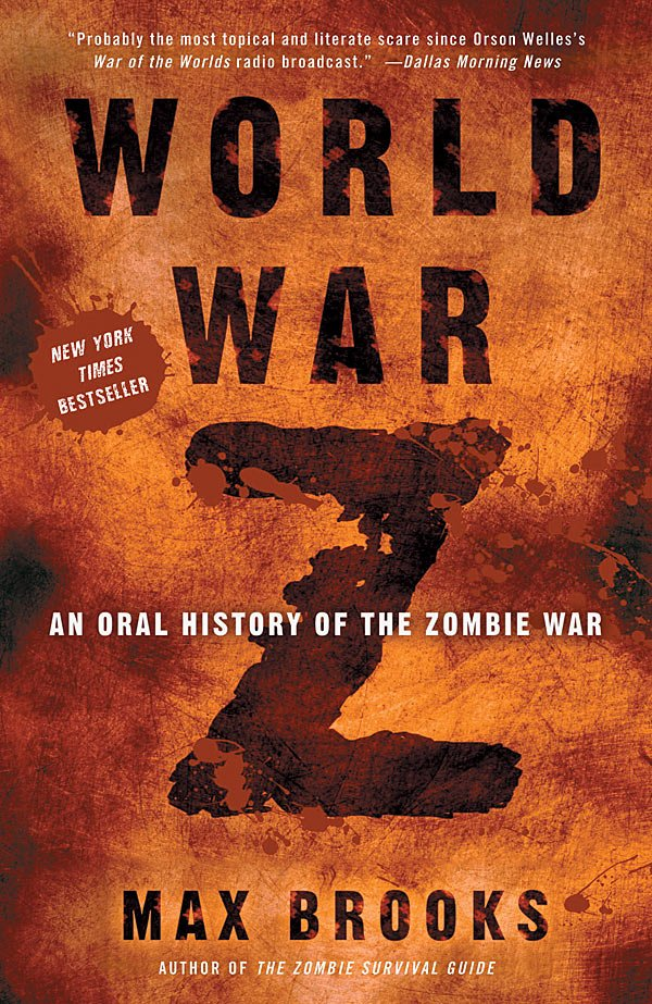world war z cover. What World War Z does for the zombie genre, The Dark Knight did for the
