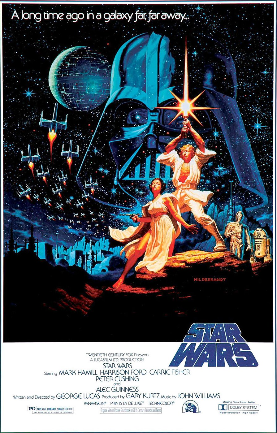 Iv The Movie Star Wars Re Release As Star Wars Episode Iv A New Hope ...